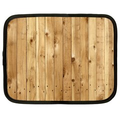 Light Wood Fence Netbook Case (xxl)
