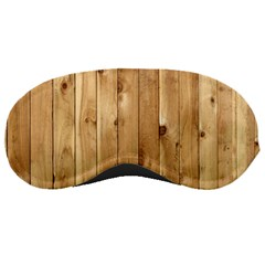 Light Wood Fence Sleeping Masks
