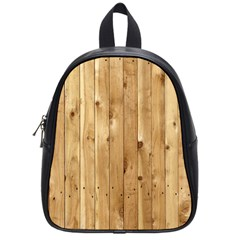 LIGHT WOOD FENCE School Bags (Small)
