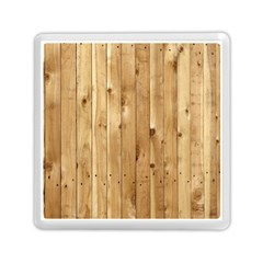 Light Wood Fence Memory Card Reader (square)