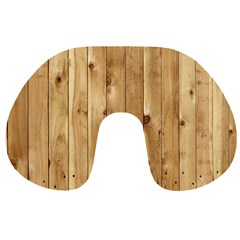 LIGHT WOOD FENCE Travel Neck Pillows