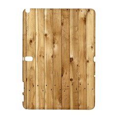 LIGHT WOOD FENCE Samsung Galaxy Note 10.1 (P600) Hardshell Case
