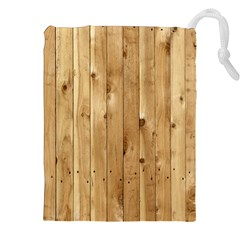 LIGHT WOOD FENCE Drawstring Pouch (XXL)