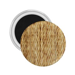 Light Beige Bamboo 2 25  Magnets