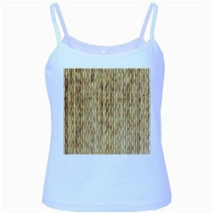 Light Beige Bamboo Baby Blue Spaghetti Tanks
