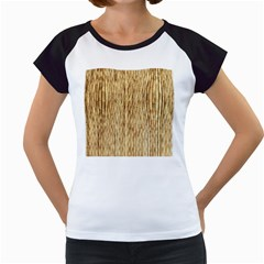 Light Beige Bamboo Women s Cap Sleeve T