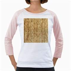 Light Beige Bamboo Girly Raglans