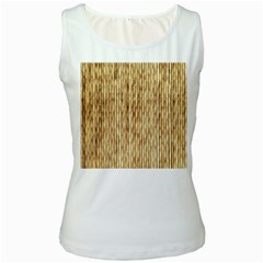 Light Beige Bamboo Women s Tank Tops