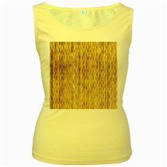 Light Beige Bamboo Women s Yellow Tank Tops