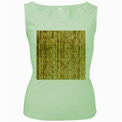 Light Beige Bamboo Women s Green Tank Tops