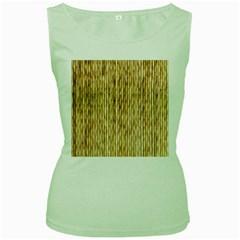 Light Beige Bamboo Women s Green Tank Tops
