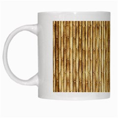 Light Beige Bamboo White Mugs