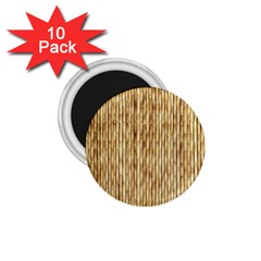 Light Beige Bamboo 1 75  Magnets (10 Pack)