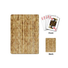 LIGHT BEIGE BAMBOO Playing Cards (Mini)