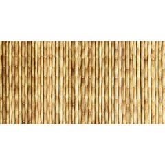 LIGHT BEIGE BAMBOO YOU ARE INVITED 3D Greeting Card (8x4)