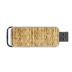 LIGHT BEIGE BAMBOO Portable USB Flash (Two Sides)