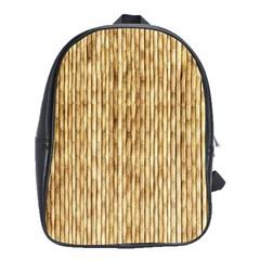 LIGHT BEIGE BAMBOO School Bags (XL)