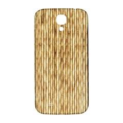 LIGHT BEIGE BAMBOO Samsung Galaxy S4 I9500/I9505  Hardshell Back Case