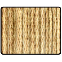 Light Beige Bamboo Double Sided Fleece Blanket (medium)