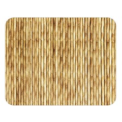Light Beige Bamboo Double Sided Flano Blanket (large)