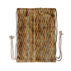 Light Beige Bamboo Drawstring Bag (small)