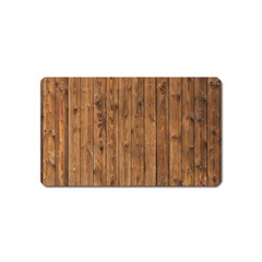 Knotty Wood Magnet (name Card)