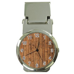 KNOTTY WOOD Money Clip Watches