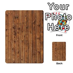 Knotty Wood Multi Purpose Cards (rectangle)