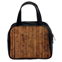 Knotty Wood Classic Handbags (2 Sides)
