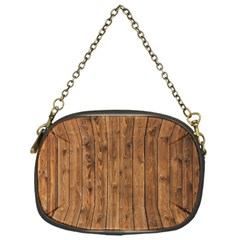 Knotty Wood Chain Purses (one Side)