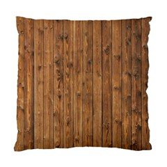 Knotty Wood Standard Cushion Case (one Side)
