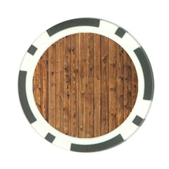 Knotty Wood Poker Chip Card Guards (10 Pack)