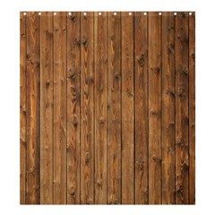 Knotty Wood Shower Curtain 66  X 72  (large)