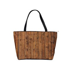 Knotty Wood Shoulder Handbags