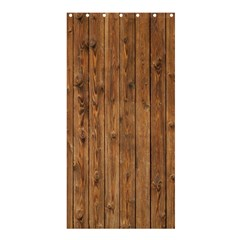 Knotty Wood Shower Curtain 36  X 72  (stall)
