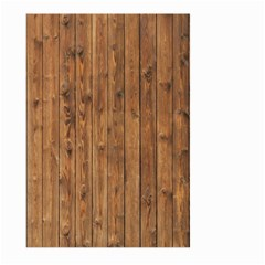 Knotty Wood Large Garden Flag (two Sides)