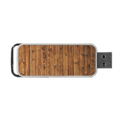 KNOTTY WOOD Portable USB Flash (Two Sides)