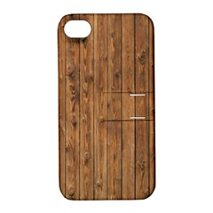 KNOTTY WOOD Apple iPhone 4/4S Hardshell Case with Stand