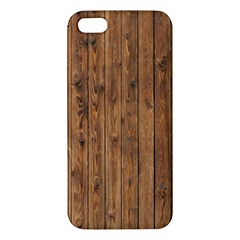 KNOTTY WOOD iPhone 5S Premium Hardshell Case