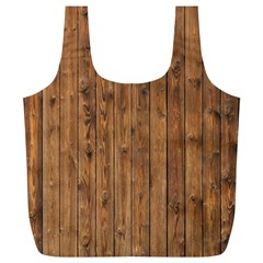 KNOTTY WOOD Full Print Recycle Bags (L)