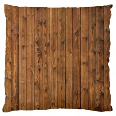 KNOTTY WOOD Standard Flano Cushion Cases (One Side)