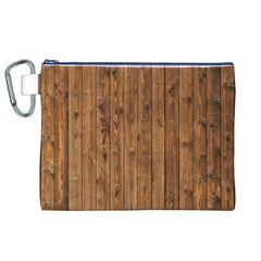 KNOTTY WOOD Canvas Cosmetic Bag (XL)