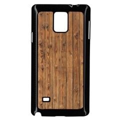 KNOTTY WOOD Samsung Galaxy Note 4 Case (Black)