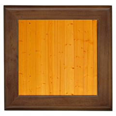 Honey Maple Framed Tiles