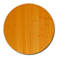 Honey Maple Round Mousepads