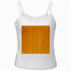 Honey Maple White Spaghetti Tanks