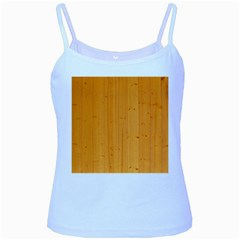 Honey Maple Baby Blue Spaghetti Tanks