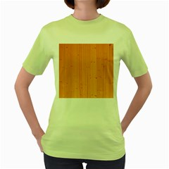 Honey Maple Women s Green T Shirt