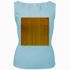 Honey Maple Women s Baby Blue Tank Tops