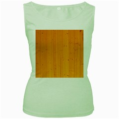 Honey Maple Women s Green Tank Tops